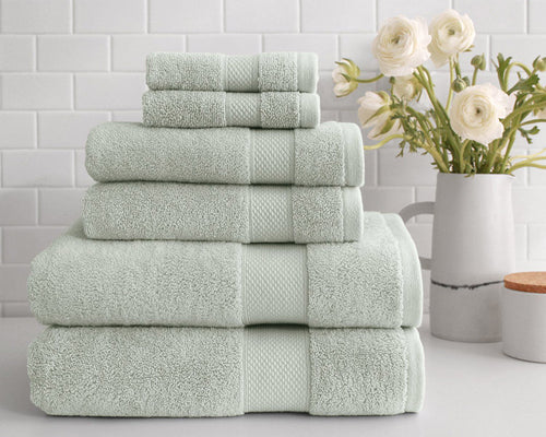 peacock alley diamond sage turkish towel set