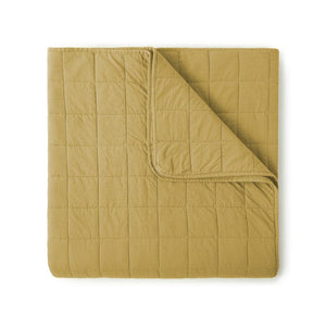 4 Square Honey Quilted Coverlet