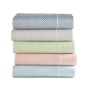 Emma Sateen Sheets Stacked various colors