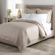 Load image into Gallery viewer, Neutral bedroom with Angelina Matelasse coverlet and shams