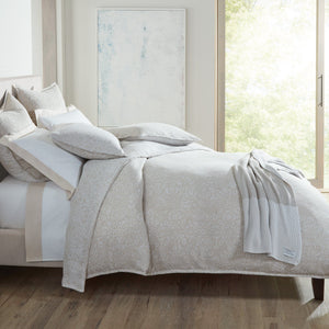 Avalon Jacquard Sham bed