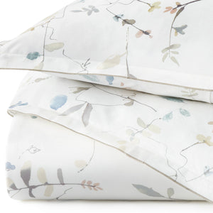 Avery Percale Duvet Cover detail