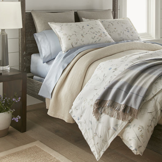 Avery Percale Sham bed