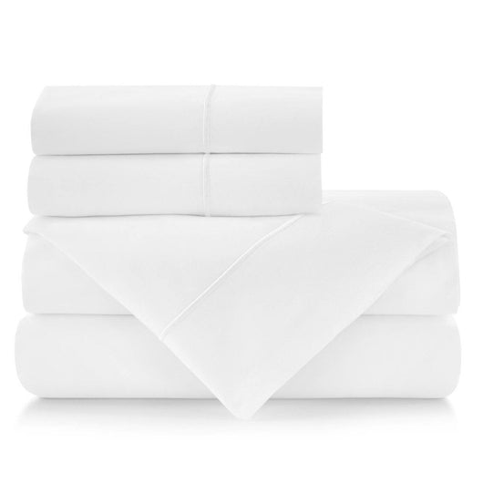 Soprano II Embroidered Sateen Sheet Set