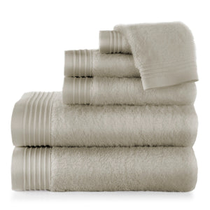 Flint Bamboo Bath Towel Stack