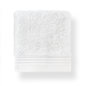 white cotton wash towel