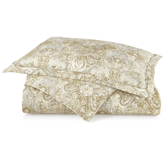 Baroque Linen Duvet Cover