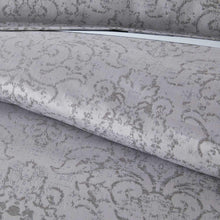 Load image into Gallery viewer, detail shot of bella duvet in pewter