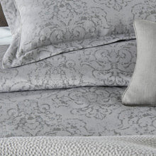 Load image into Gallery viewer, close up of bella duvet and shams