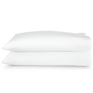 Boutique Pillow case stack white embroidery trim