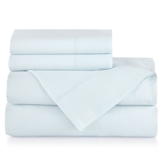 Classico Sheet Set Sky color stacked