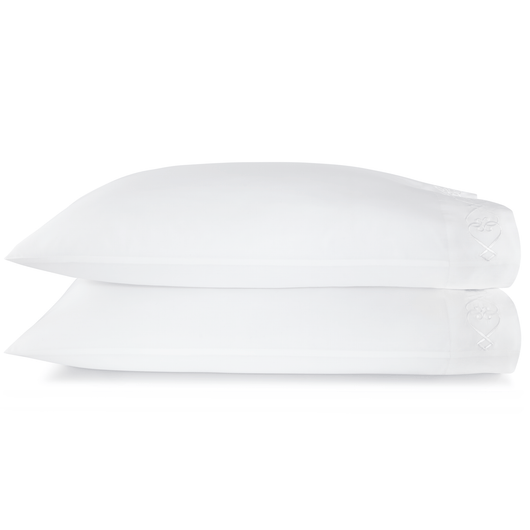 Concerto Embroidered Sateen Pillow Cases
