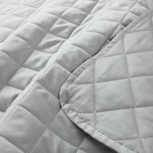 Load image into Gallery viewer, Diamond Quilted Sateen Coverlet Set