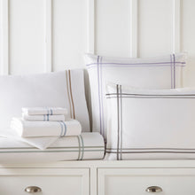 Load image into Gallery viewer, Duo Striped Sateen Sheet Set