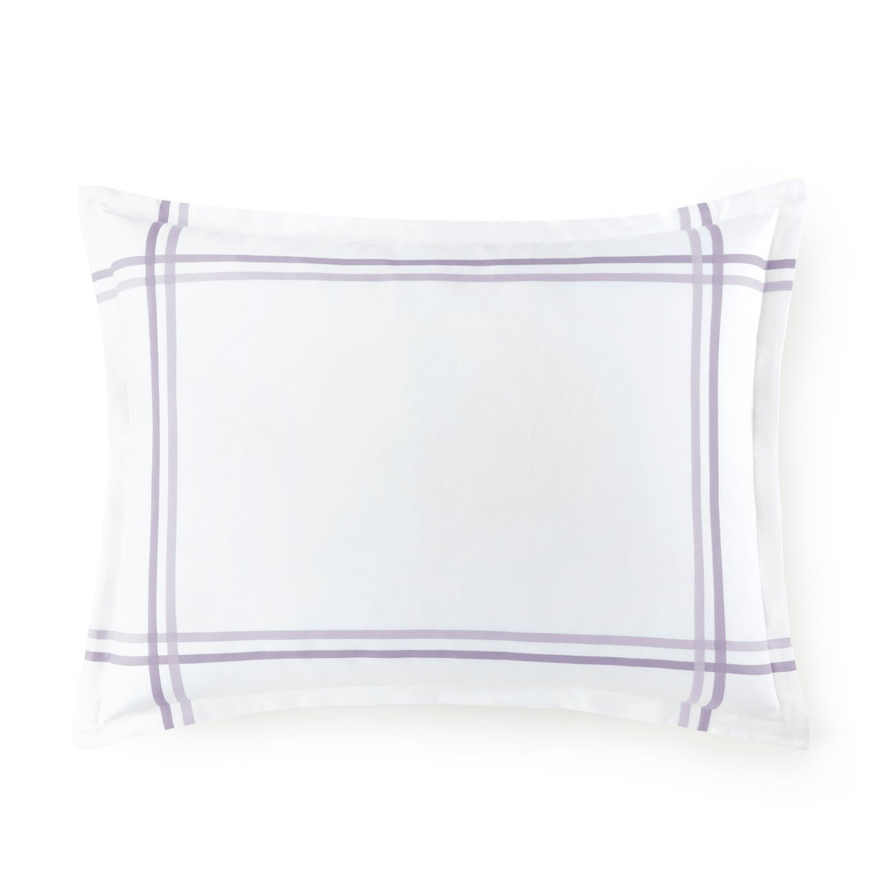 Peacock Alley striped duo sham in lilac