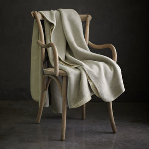 Cotton blanket on a chair