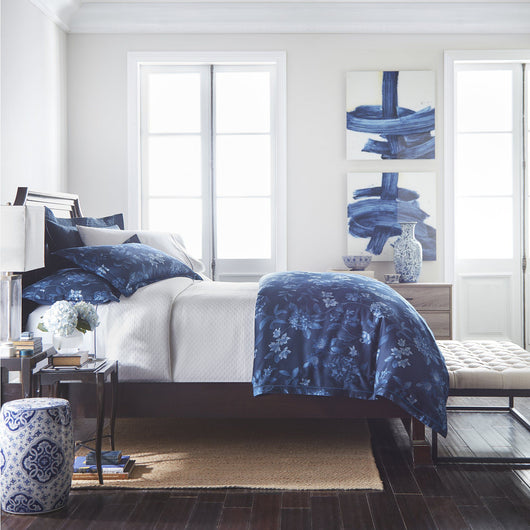 Veronica Floral Printed Duvet Cover Peacock Alley