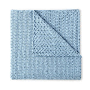 Faro Throw Blanket Blue