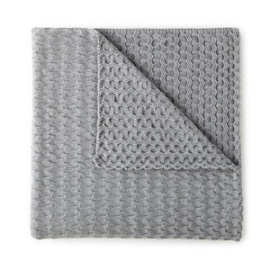 Faro Throw Blanket Gray