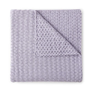 Faro Throw Blanket Lilac