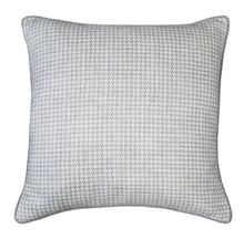 Load image into Gallery viewer, Graham Houndstooth Decorative Pillow Pewter