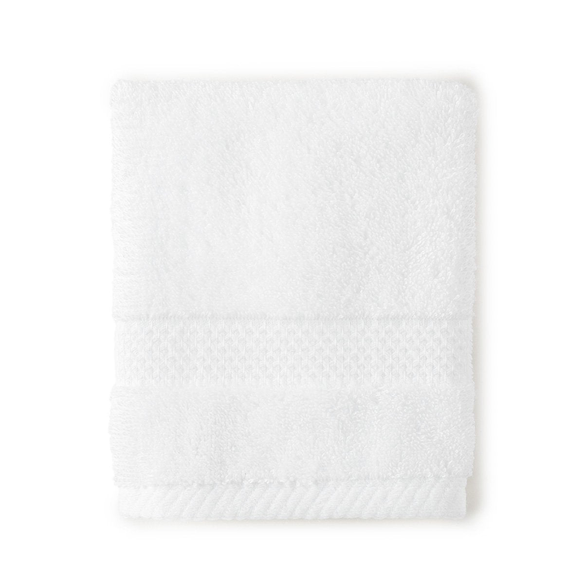 white Grange wash cloth