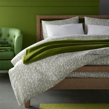 Load image into Gallery viewer, olive green Fern duvet cover and sleeping shams