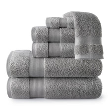 Load image into Gallery viewer, Liam Towel Collection dark grey