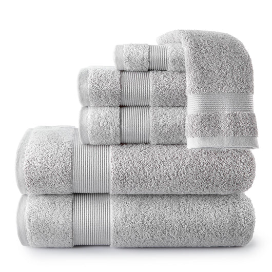 Liam Towel Collection light grey