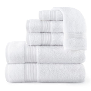 Liam Towel Collection white
