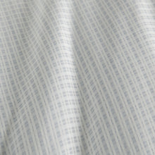 Load image into Gallery viewer, Pewter Maddox Plaid Duvet Cover detail close up