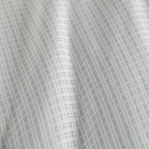 Pewter Maddox Plaid Duvet Cover detail close up