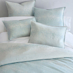 Malibu Reversible Linen Duvet Cover with shams