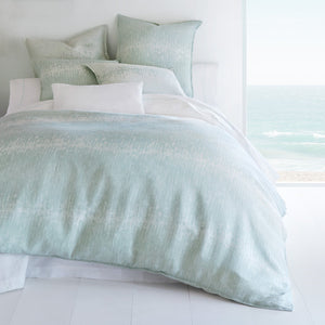 Malibu Reversible Linen Duvet Cover bed