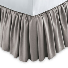 Load image into Gallery viewer, Mandalay Ruffled Linen Bed Skirt