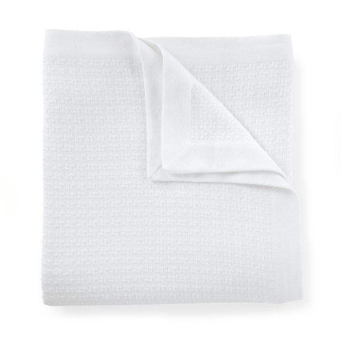 Newport Cotton Blanket white