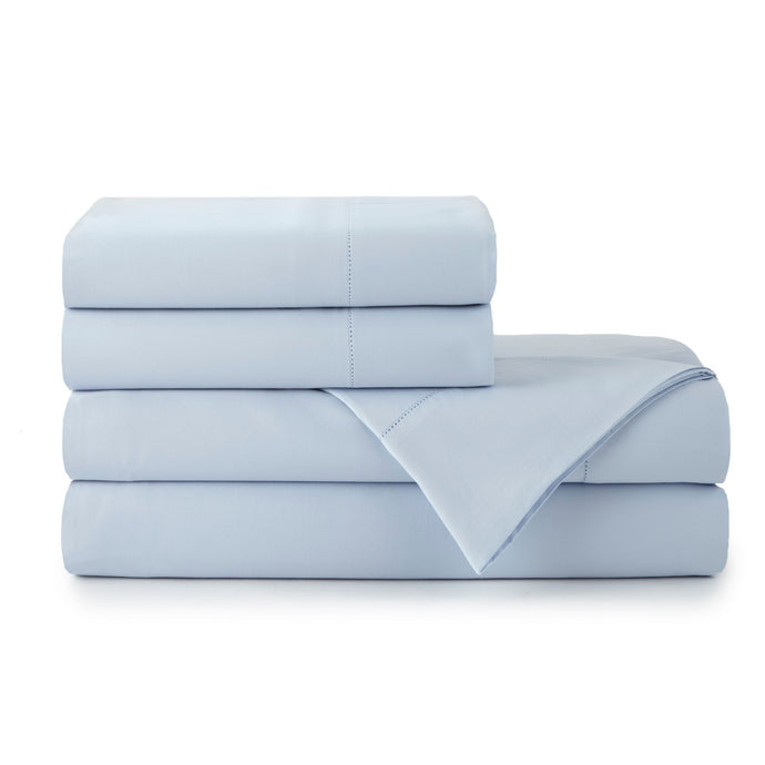 Clara Sheet Set Stack Blue