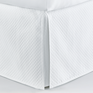 Oxford Bedskirt White