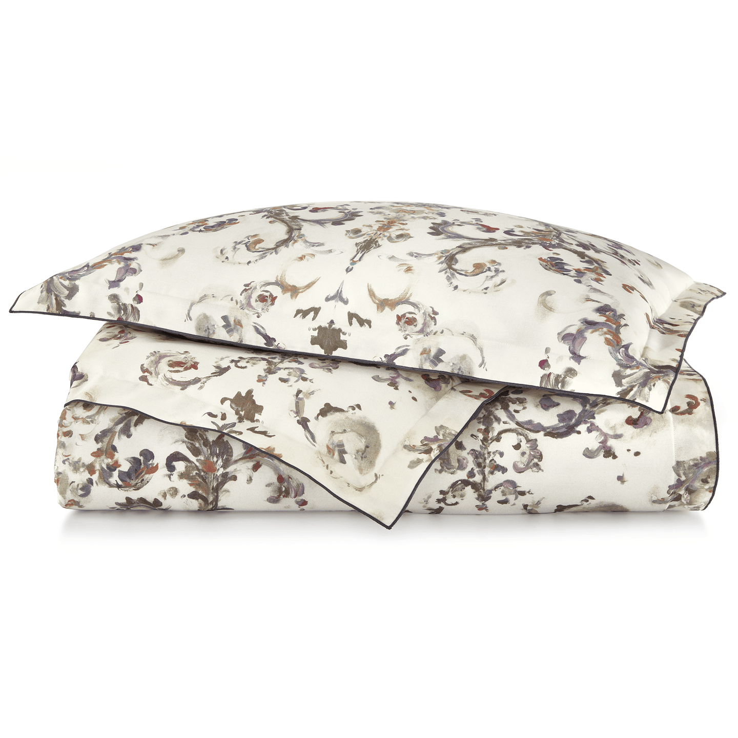 Alena Printed Sateen Duvet Cover
