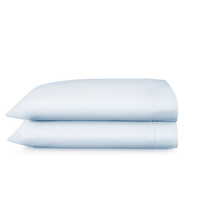 Stack of two Soprano pillow cases in color Barely Blue