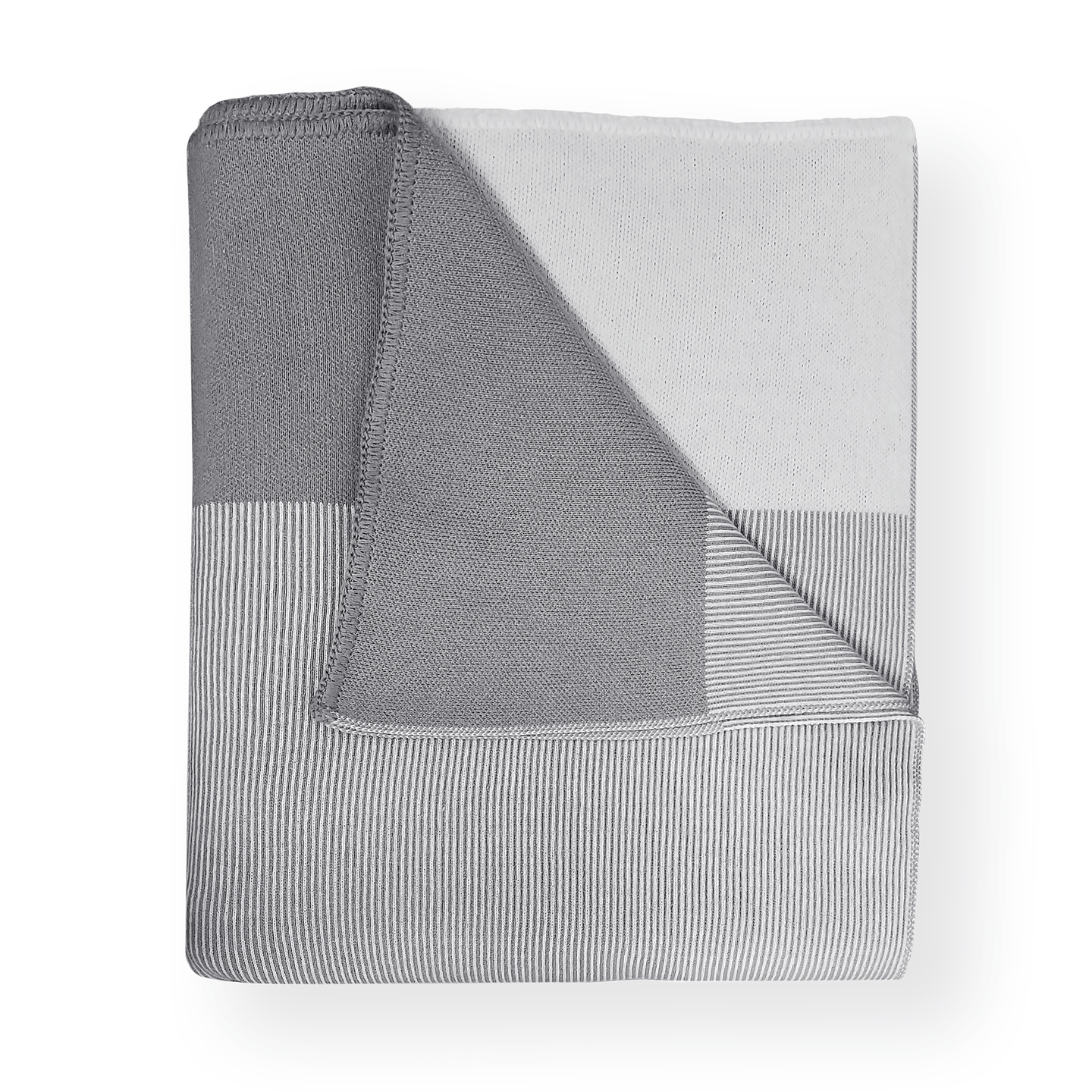 Paris West Striped Throw Blanket