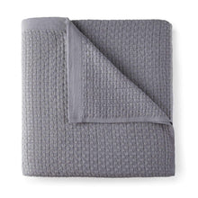 Load image into Gallery viewer, Patara Basket Weave Blanket grey