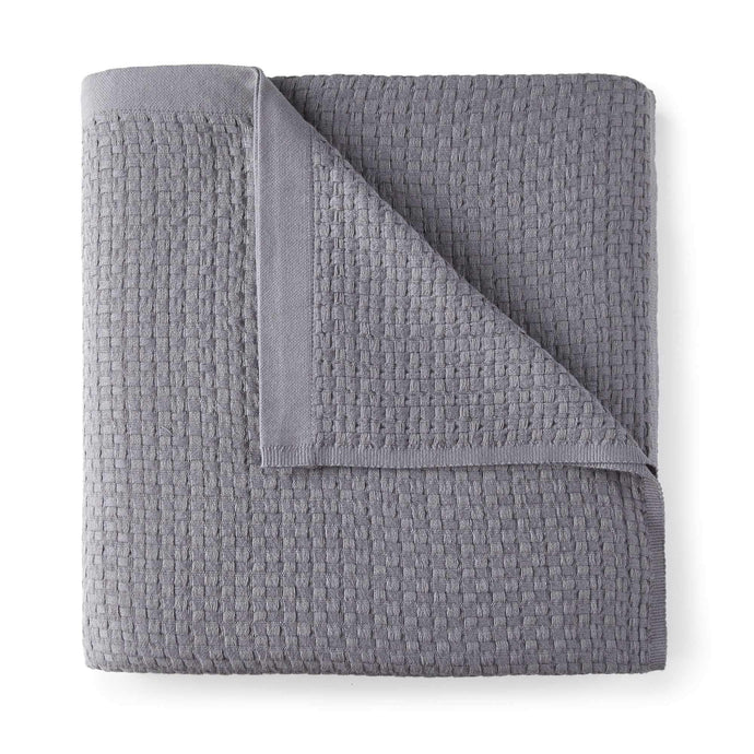 Patara Basket Weave Blanket grey