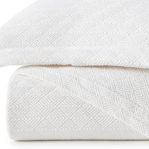 White Paulo Coverlet detail