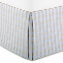 Load image into Gallery viewer, Blue Prescott Bed Skirt
