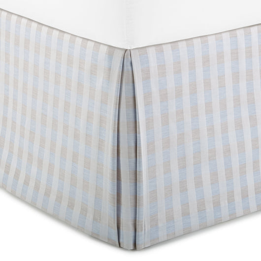 Blue Prescott Bed Skirt