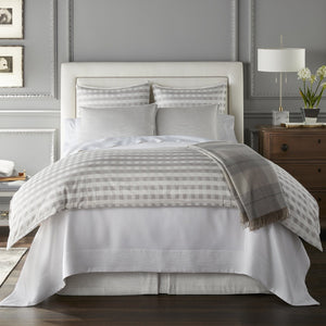Prescott Sham pewter bed