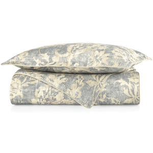 Remi Printed Sateen Duvet Cover stack