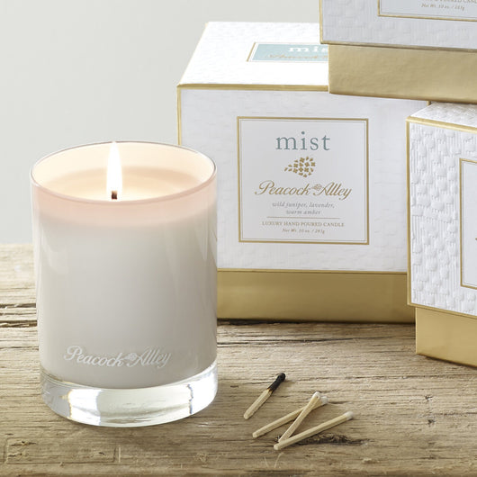 Mist Candle Peacock Alley