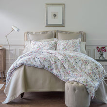 Load image into Gallery viewer, Chloe Floral Percale Duvet Cover